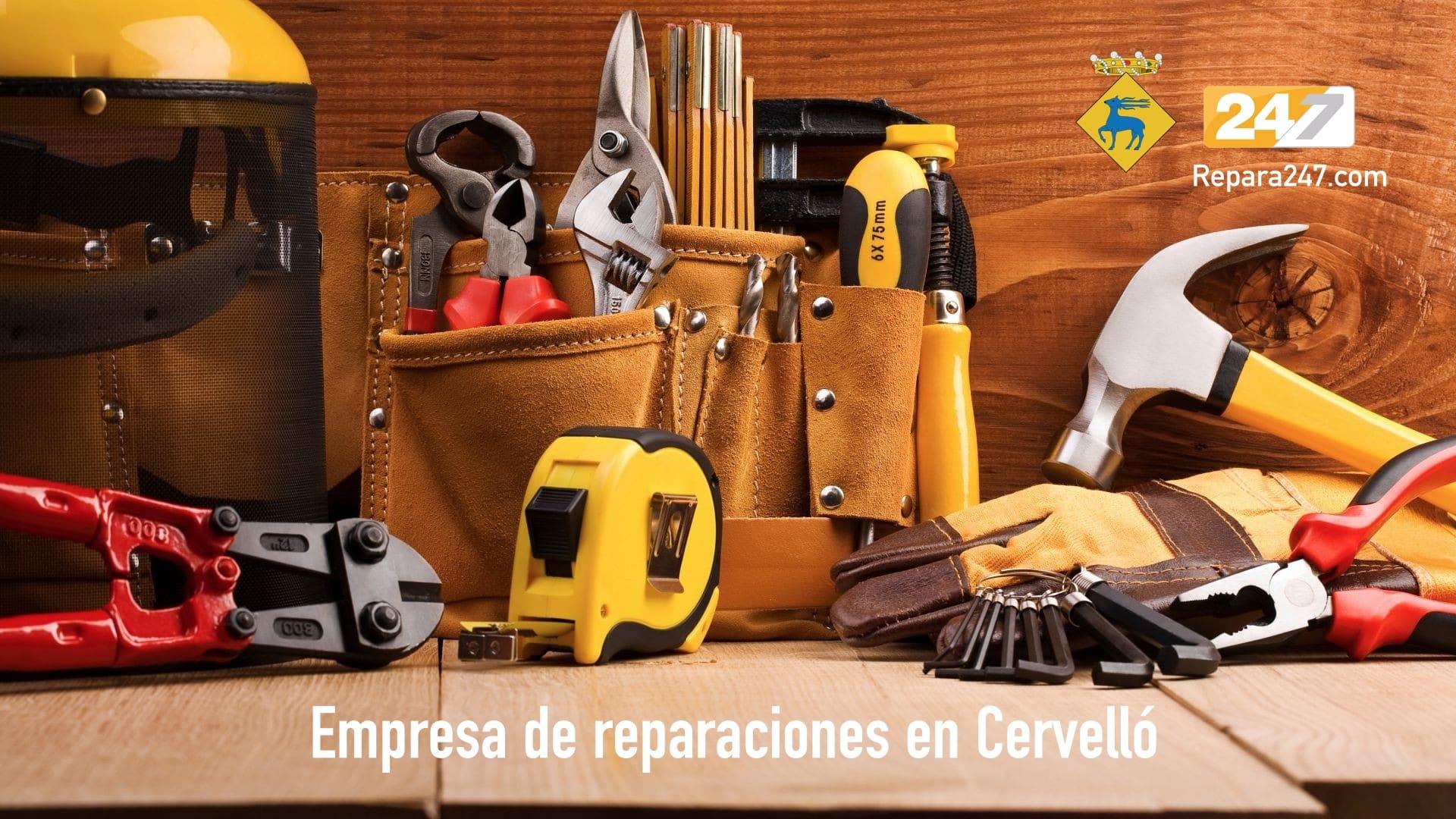 Empresa de reparaciones en Cervelló