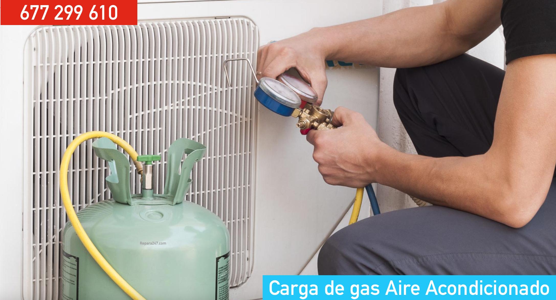 Carga de gas aire acondicionado Martorell